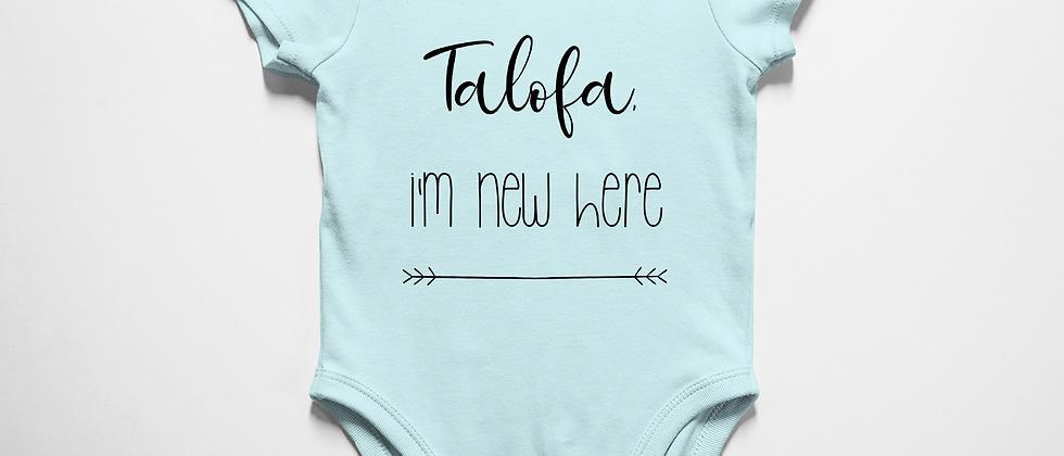 Talofa, I'm new here