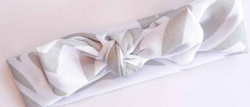 Topknot headband (Silver)
