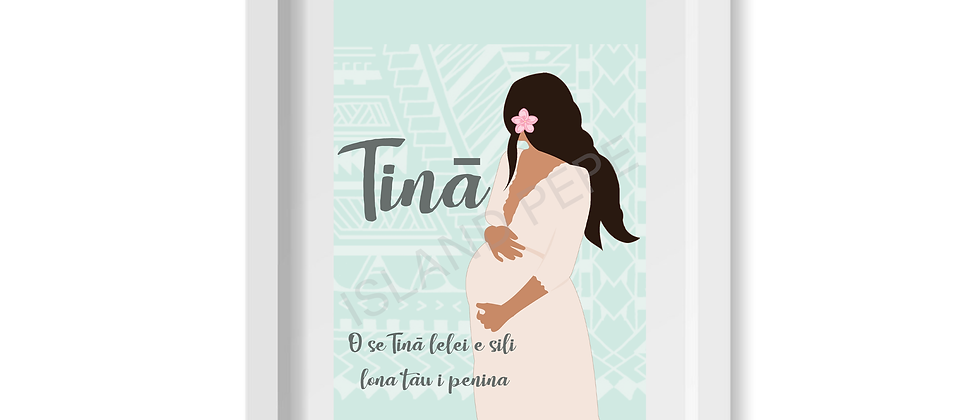 Tinā (Mother) A4 size