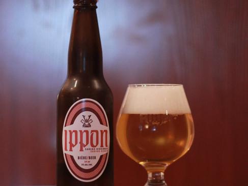 Première critique d'experts pour la bière Ippon