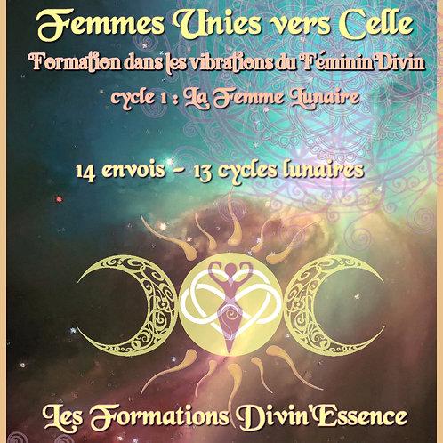 Formation à distance Femmes Unies vers Celle - La Femme Lunaire
