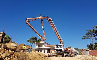 Beton Gieten Pijlers Fractie A Project Jardins do Atlântico