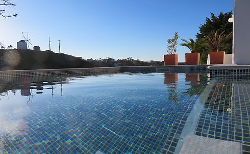 Zwembadspiegel Uitzicht Molen Casinhas F