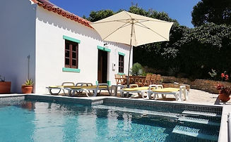 Parasol Ligbedden Zwembad Suite Casinhas Fim do Mundo