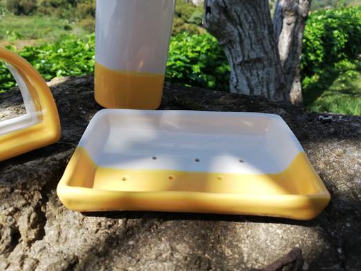 Zeepbakje geel