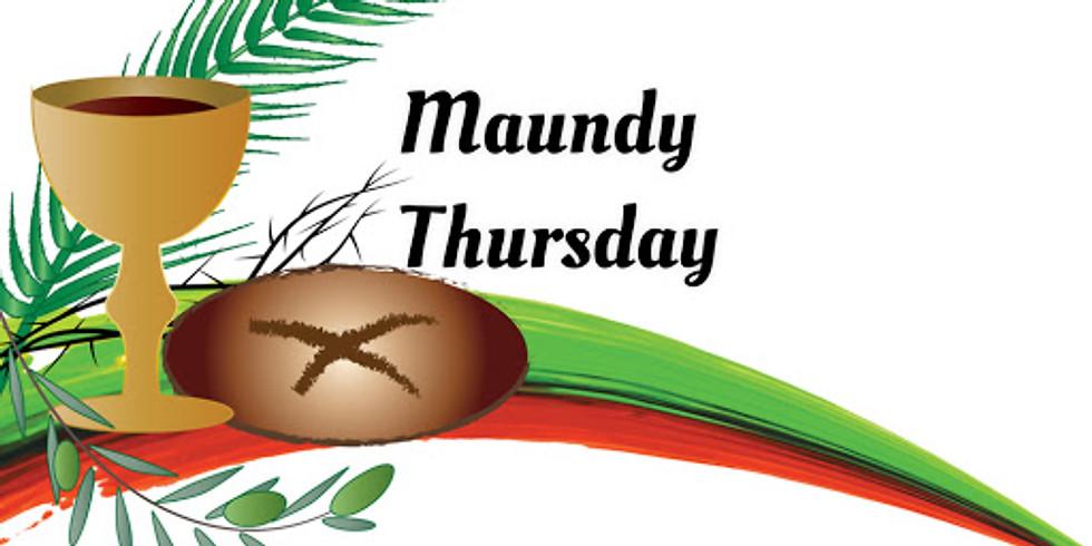 Maundy Thursday Service - Cancelled Due to Corona Virus