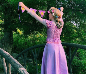 Abigail Johnson as Rapunzel