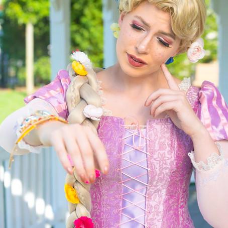 Rapunzel, Rapunzel, let down your.... braid pillow?