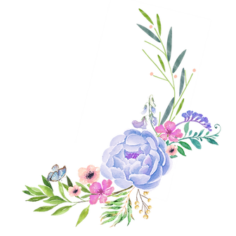 —Pngtree—cartoon_dotted_blue_flowers