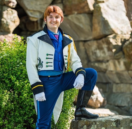 Magical Princess Parties Idaho featuring Hans