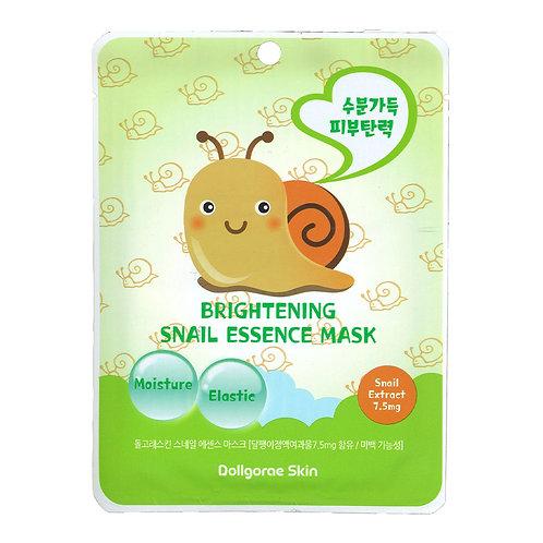 DOLLGORAE - Brightening Snail Essence Mask