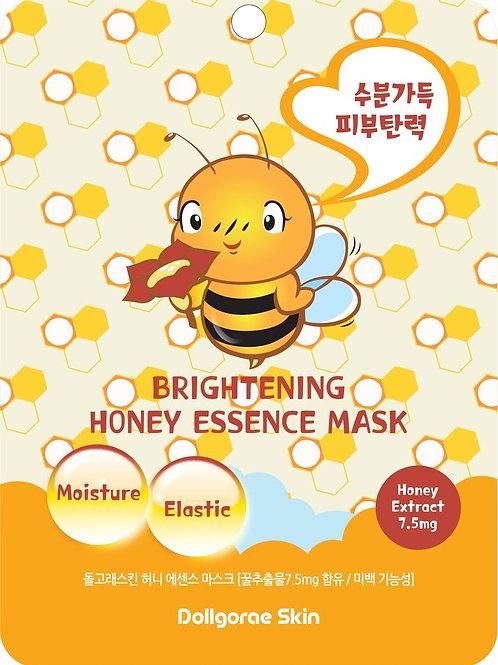 DOLLGORAE - Brightening Honey Essence Mask
