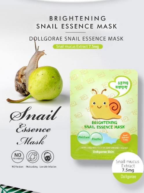 DOLLGORAE - Snail Essence Facial Mask