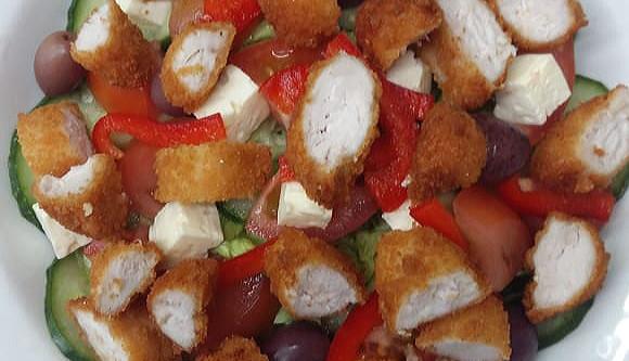 Gormet chicken salad