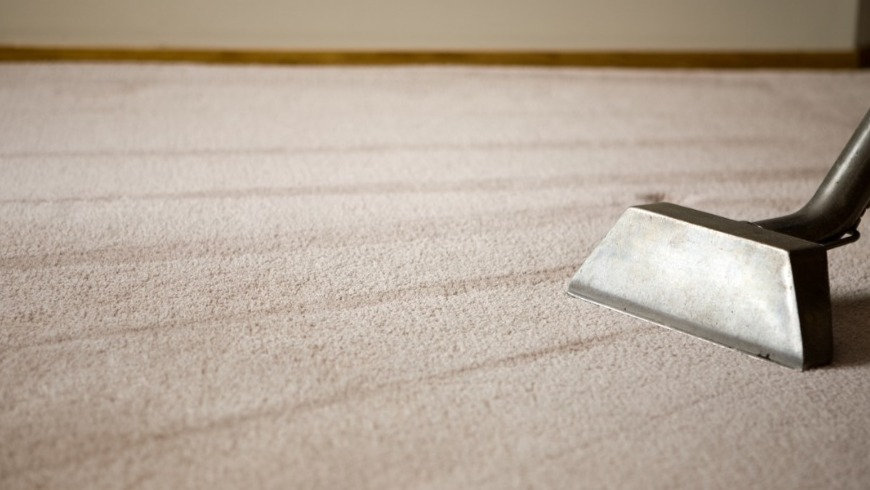 shag-rug-with-carpet-cleaning-equipment-