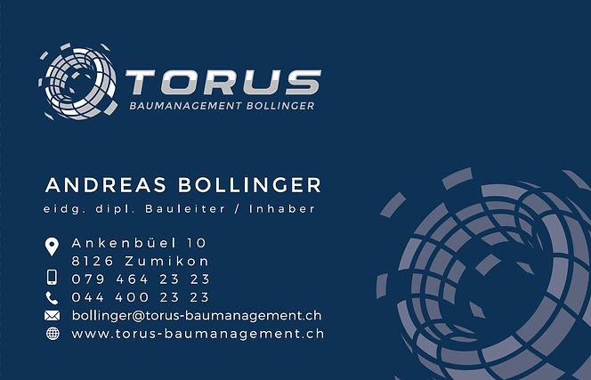 Torus Baumanagement Bollinger Zürich
