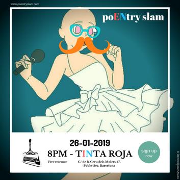 poENtry slam January 2019