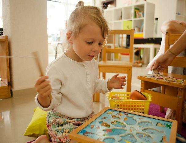 Развивающие занятия монтессори для детей от 3 до 6 лет. Детский сад.