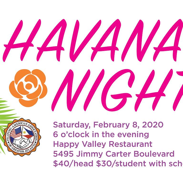 Valentine's Day Havana Night