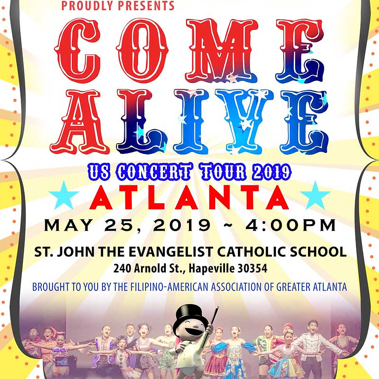 """SONGSPELL """"Come Alive"""" US Concert Tour 2019"""