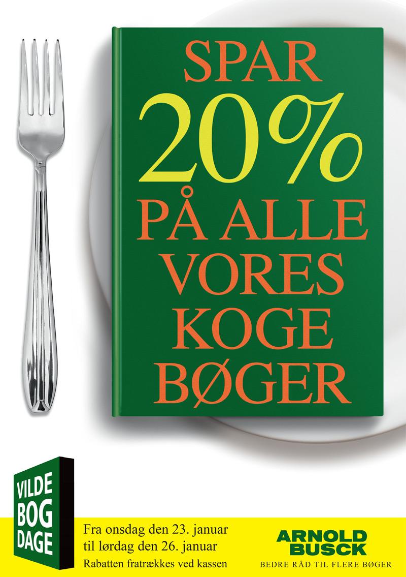 Tilbudskampagne på kogebøger
