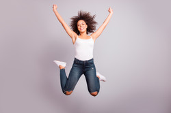 2nd Front Page Women Jumping