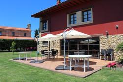 Terraza Hotel rural El Gran Duque