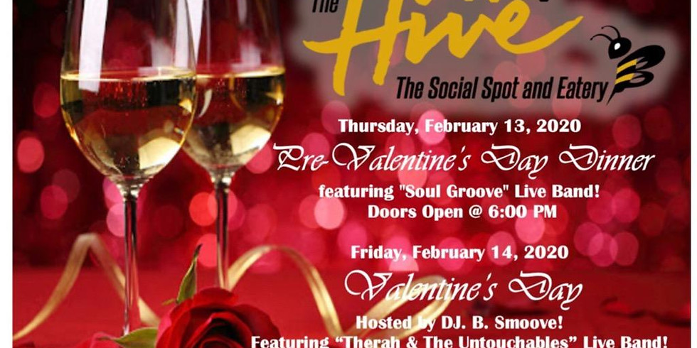 The Hive's Valentine's Day Dinner With Therah & The Untouchables