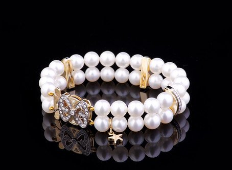 Elegances simbols – pērles