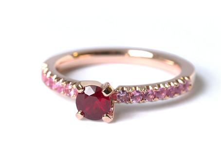 Sārtie meiteņu sapņi - romantiskais rozā safīrs