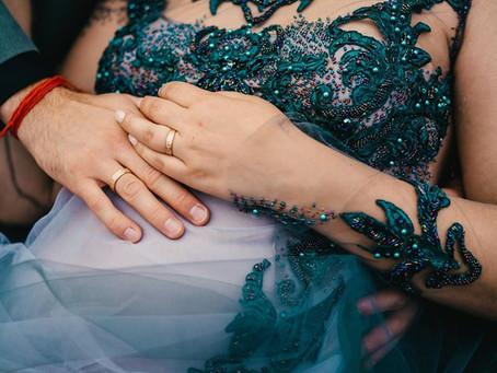 Ievas un Eināra gredzenu stāsts: laulību gredzens ir lielās precību dienas sajūtu projekcija
