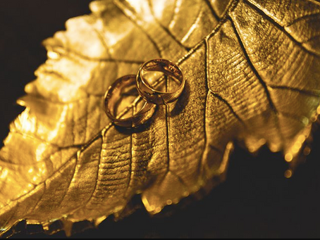 Elīnas gredzenu stāsts: gredzeni mirdzēs pirkstos līdz pat 50. kāzu jubilejai!