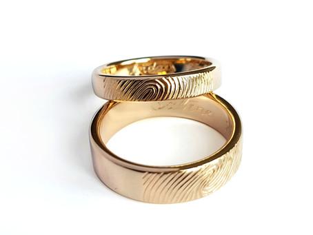 Laulību gredzeni - dizaina risinājumi bez dārgakmeņiem
