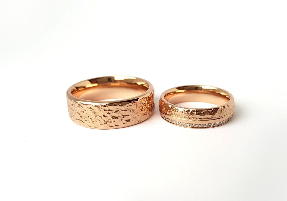 Individuāli veidoti laulību gredzeni
