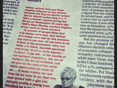 Maya Angelou | Time Magazine 2013