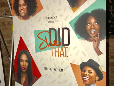 Have you seen #SHEDIDTHATFILM?