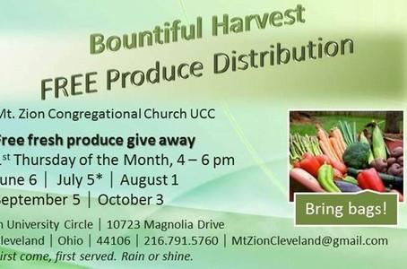 Fall Bountiful Harvest | Mt. Zion Cleveland