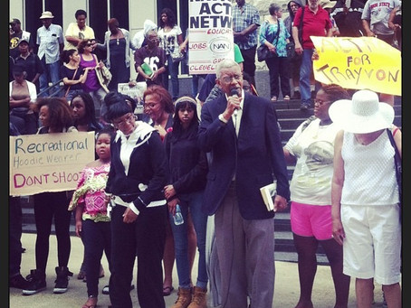Cleveland   Justice for Trayvon