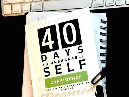 Book of the Month: 40 Days to Unshakeable Self-Confidence