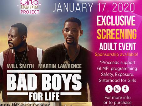 Bad Boys 3 with GLMPI