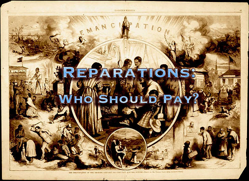 Reparations: Who Should Pay? DVD