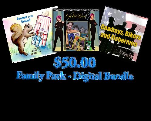 Donate - $50 Family Pack Digital Bundle