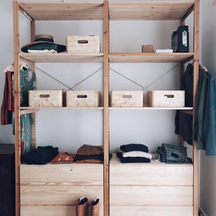 Las cuatro cosas de mi armario (I)