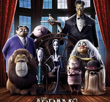 New posters for The Addams Family!