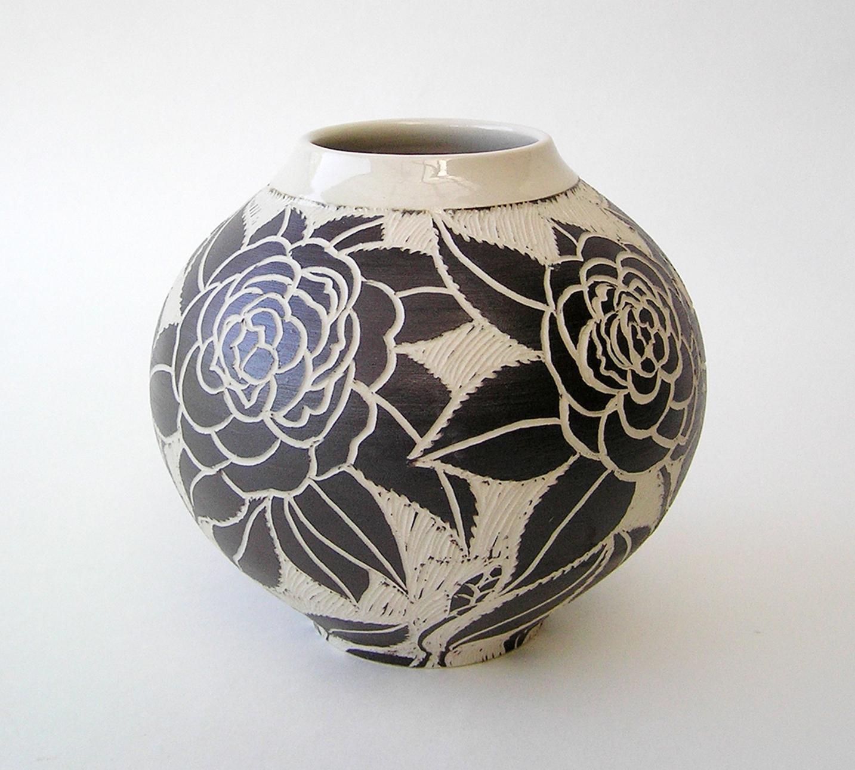 Camellia vase