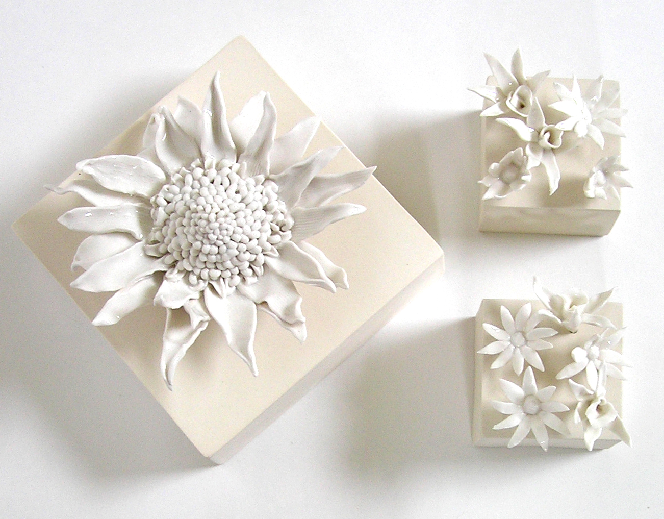 Frozen Assets: porcelain hand built