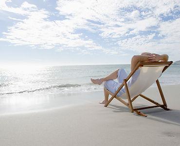 Strand Urlaub Liebestuhl Meer