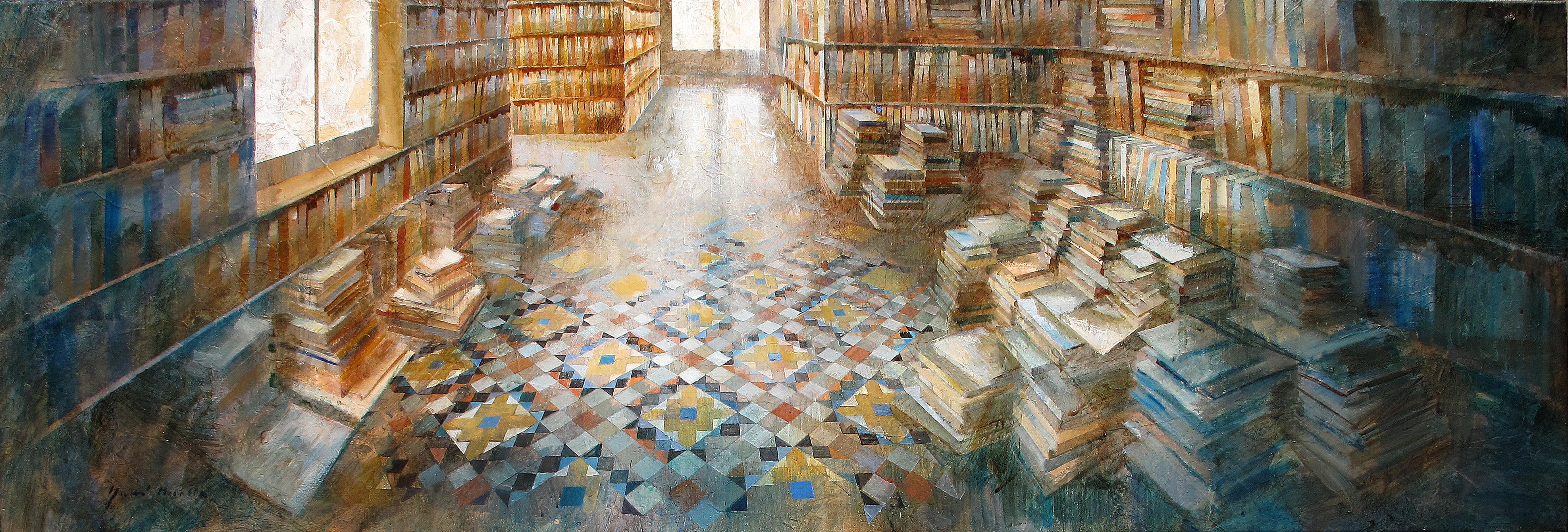 Ambient Literari - 50 x 200 cm