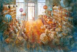 Librería Mapas & Co_100x150 cm