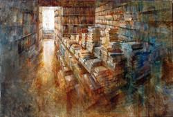 Ambient literari XI - 100x150 cm